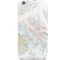 USGS TOPO Map Alaska AK Sumdum A-2 359349 2000 63360 iPhone Case/Skin