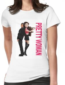 A Plastic World - Pretty Woman Womens Fitted T-Shirt