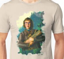 "Twin Peaks The Log Lady  ""The Log Knows"" Unisex T-Shirt"