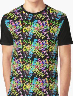 Mabbatt crazy graffiti mashup Graphic T-Shirt