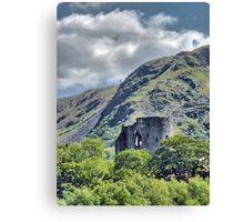 Dolbadarn Castle 2 Canvas Print