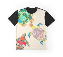 Turtle Family Graphic T-Shirt