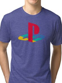 retro game console Tri-blend T-Shirt