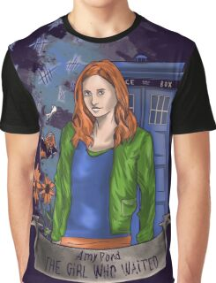 The girl WHO waited. Graphic T-Shirt