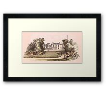 Shirle Hill, Sheffield, 1865 Framed Print