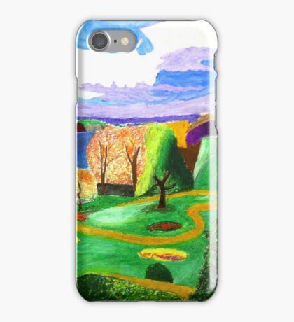 Richmond park in pastels iPhone Case/Skin