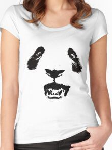 FACE -OSO WOO- Women's Fitted Scoop T-Shirt