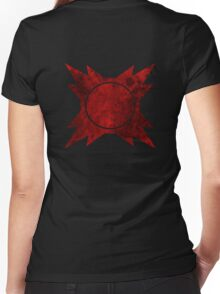 Sith symbol Women's Fitted V-Neck T-Shirt