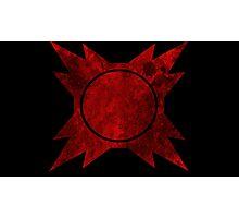Sith symbol Photographic Print