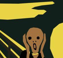 The Screaming Man Sticker