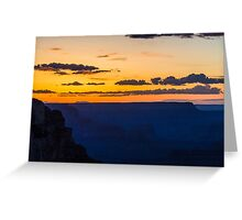 Grand Canyon - Sunset 2 Greeting Card