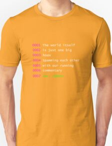 Mr. Robot Quote Unisex T-Shirt