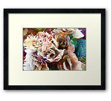Battered Silk Framed Print