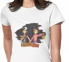 Mystery Twins Womens Fitted T-Shirt