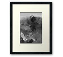 Monoprint Framed Print