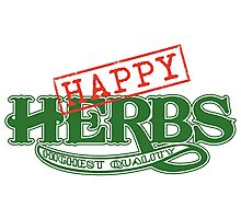 Happy Herbs Photographic Print