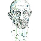 Mike Ehrmantraut by Calum Margetts Illustration