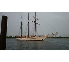 Tall ship Mystic Photographic Print
