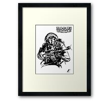 Rogue Trooper - Friday Framed Print