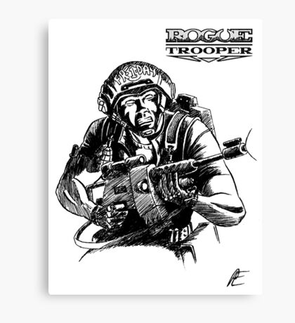 Rogue Trooper - Friday Canvas Print