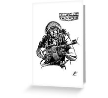 Rogue Trooper - Friday Greeting Card