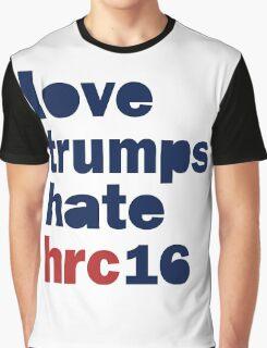 Womens Hillary 2016 shirt - Love Trumps Hate Hillary Womens Shirt Graphic T-Shirt