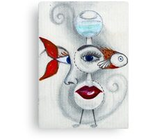 Fish-Eye Canvas Print
