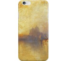 Thomas Moran - Opalescent Venice. Sea landscape: sea view,  yachts,  holiday, sailing boat, coast seaside, waves and beach, marine, seascape, sun clouds, nautical, ocean iPhone Case/Skin