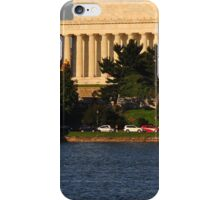 Lincoln from across the Potomac iPhone Case/Skin