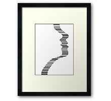 Scan Me Framed Print
