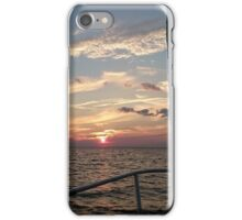 Sunset at Sandy Hook iPhone Case/Skin