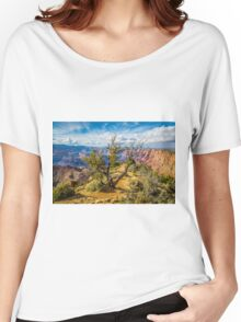Grand Canyon - Very Old Spruce Tree Women's Relaxed Fit T-Shirt