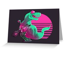 When Dinosaurs Ruled the Road Greeting Card