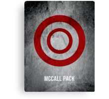 McCall Pack Canvas Print
