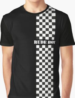 Rude Boy - Two Tone Graphic T-Shirt