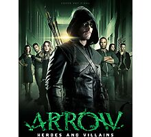 Arrow Heroes and Villains Photographic Print
