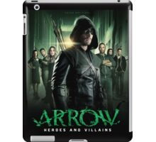 Arrow Heroes and Villains iPad Case/Skin
