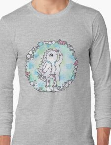 Woodland Hedgehog Long Sleeve T-Shirt