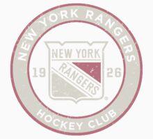 New York Rangers One Piece - Short Sleeve