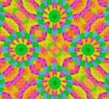 Modern Colorful Geometric Sticker