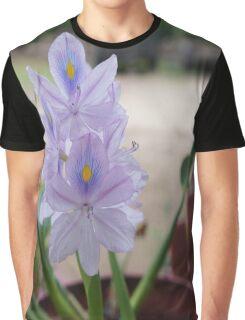 Water Hyacinth Graphic T-Shirt