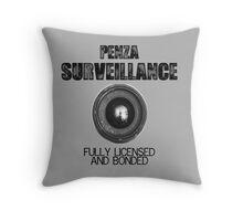 Penza Surveillance  Throw Pillow