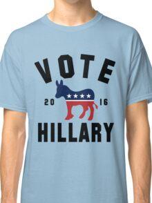 Vintage Vote Hillary Clinton 2016 Womens Shirt Classic T-Shirt