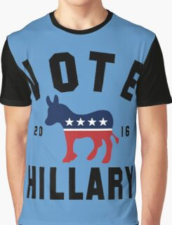 Vintage Vote Hillary Clinton 2016 Womens Shirt Graphic T-Shirt