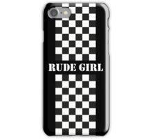 Rude Girl - Two Tone iPhone Case/Skin