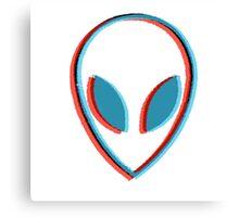 Alien head Canvas Print