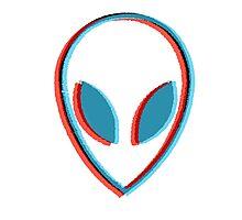 Alien head Photographic Print