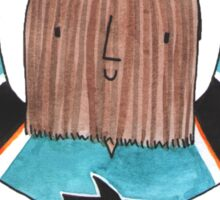Chewburnzie Sticker