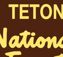 Teton National Forest Sticker