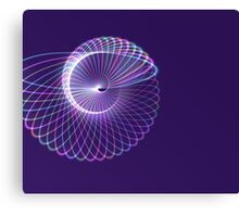 purple abstract Canvas Print